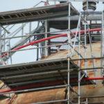 Travaux sur un bâtiment sphérique : nos échafaudages adaptés