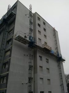 Ravalement de façade sécurisé et confort pour les usagers
