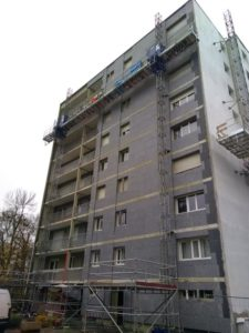 Résidence sécurisée et cadre de vie agréable même pendant les travaux de façade